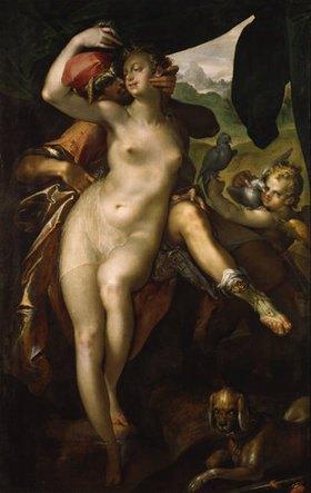 Bartholomäus Spranger: Venus und Adonis