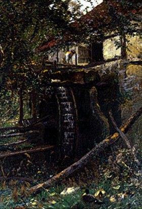 Hugo Mühlig: An der alten Wassermühle