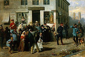 Ludwig Braun: Strassenszene