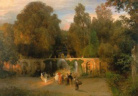 Oswald Achenbach: Im Park der Villa Torlonia