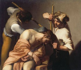 Bartolomeo Manfredi: Dornenkrönung Christi