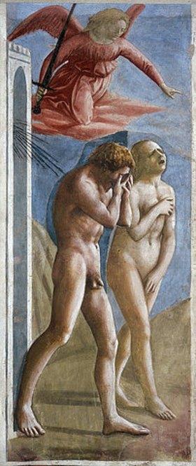 Masaccio: Die Vertreibung aus dem Paradies