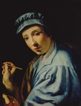 Alessandro (Bronzino) Allori: Selbstbildnis