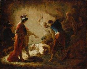 Januarius Zick: Ermordung des hl. Severus. 1754. Lwd