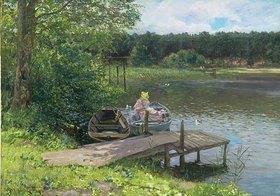 Richard Eschke: Sommertag im Grunewald