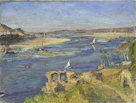Max Slevogt: Der Nil bei Assuan