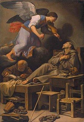 Carlo Saraceni: Die Vision des hl. Franziskus