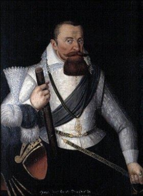 Deutsch: Bildnis des Pfalzgrafen Georg Johann I.von Veldenz (1543-1592)