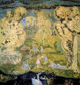 Pierre Bonnard: Frühling auf dem Land