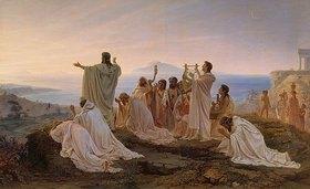 Feodor Andrejew Bronnikoff: Hymnus an die untergehende Sonne im antiken Griechenland