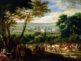 Französisch: Die Ankunft Ludwigs XIV. in Vincennes