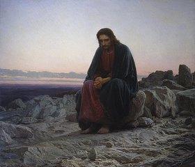 Iwan Kramskoi: Christus in der Wüste