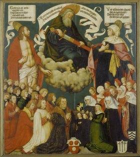 Hans Holbein d.Ä.: Votivbild des Ulrich Schwarz und seiner Familie