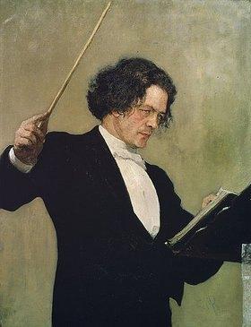 Ilja Efimowitsch Repin: Bildnis von Arthur G. Rubinstein
