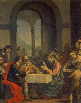 Cristofano Allori: Christus und die Jünger in Emmaus