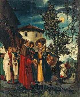 Albrecht Altdorfer: Der Abschied des Hl. Florian