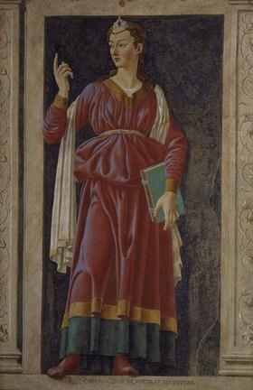 Andrea dal Castagno: Die Sybille von Cumae