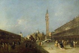 Francesco Guardi: Piazza San Marco (Der Markusplatz)