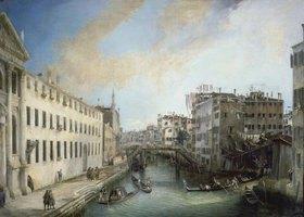 Canaletto (Giov.Antonio Canal): Il Rio dei Mendicanti