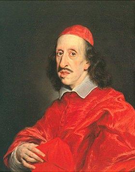 Giovanni Battista (gen. Baccicio) Gaulli: Bildnis des Kardinals Leopold de Medici