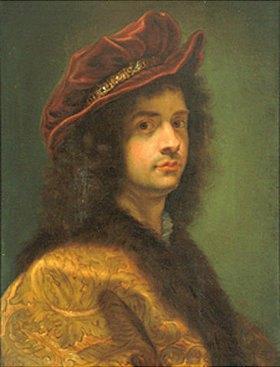 Giovanni Battista (gen. Baccicio) Gaulli: Selbstbildnis