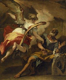 Sebastiano Ricci: Befreiung Petri aus dem Kerker. 1722(?)