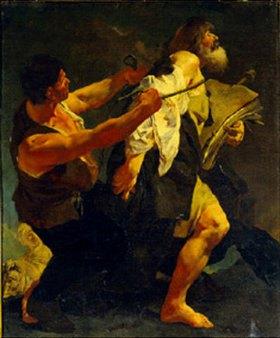Giovanni Battista Piazzetta: Der hl.Jakobus wird zur Marter geführt. 1722(?)