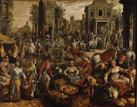 Joachim Beuckelaer: Pilatus führt Jesus dem Volke vor
