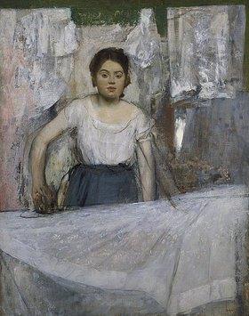 Edgar Degas: Die Büglerin