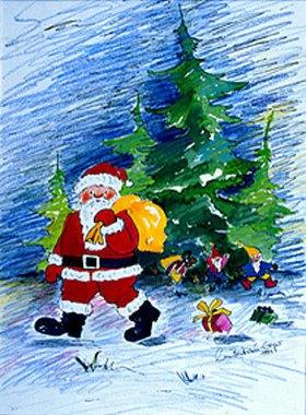 Annette Bartusch-Goger: Weihnachten bei den Wichteln