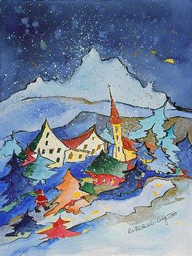 Annette Bartusch-Goger: Winter in den Bergen