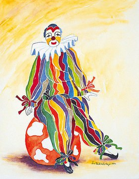 Annette Bartusch-Goger: Clown