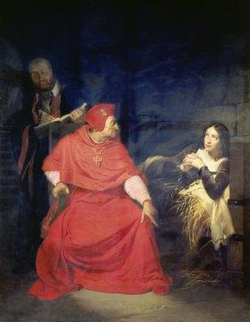 Paul Delaroche: Jeanne d'Arc vor dem Kardinal von Winchester