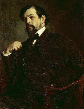 Jacques-Emile Blanche: Bildnis von Debussy