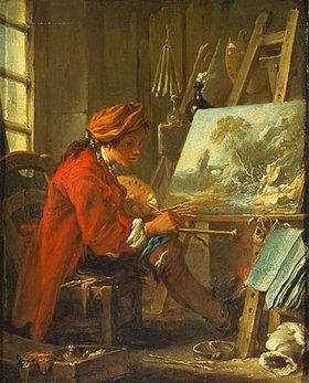 François Boucher: Der Maler in seinem Atelier