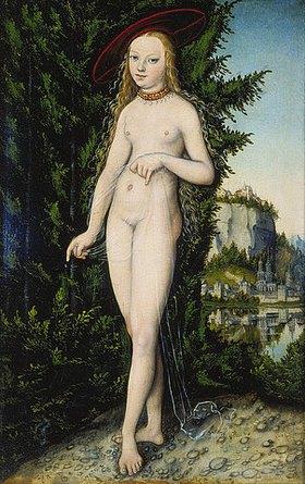 Lucas Cranach d.Ä.: Venus in einer Landschaft