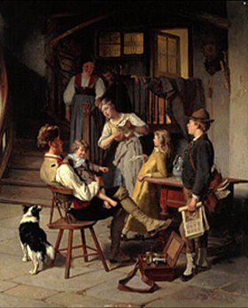 Théodore Gérard: Glückliche Familie