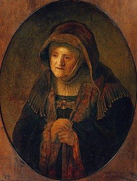 Rembrandt van Rijn: Die Mutter des Künstlers als Prophetin Hannah