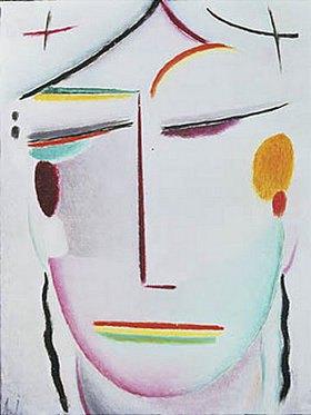 Alexej von Jawlensky: Heilandsgesicht (Ferne Hoheit/ Buddha II)