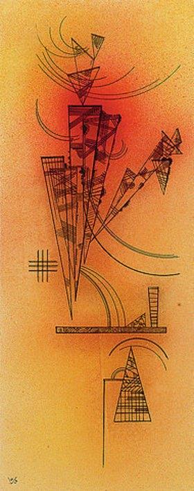 Wassily Kandinsky: Gedrängt