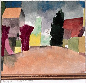 Paul Klee: Landgut bei Fribourg