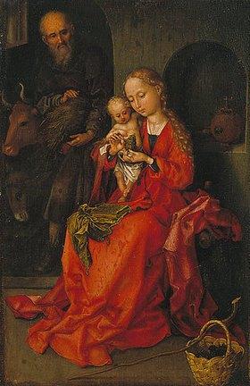 Martin Schongauer: Die hl. Familie