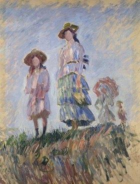 Claude Monet: Spaziergang (Skizze)