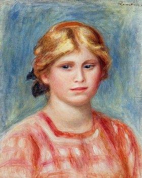 Auguste Renoir: Frauenbildnis in rosa Bluse
