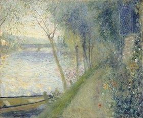 Auguste Renoir: Landschaft an der Seine mit der Brücke von Argenteuil
