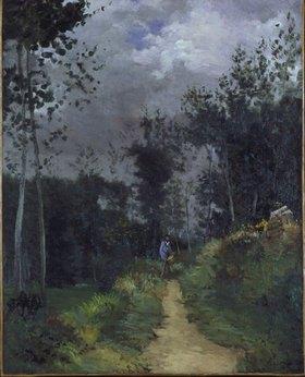 Alfred Sisley: Pfad im Wald von Fontainebleau