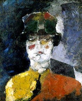 Alexander Nikolajew Koslov: Dame mit hohem Hut