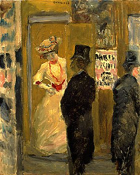 Pierre Bonnard: Nach dem Theater