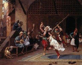Jean-Léon Gérome: Islamischer Kriegstanz (La danse pyrrhique)