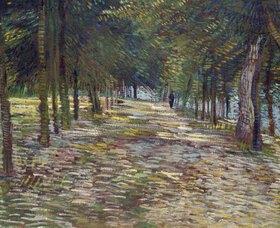Vincent van Gogh: Allee im Parc de Voyer-d`Argenson in Asnieres